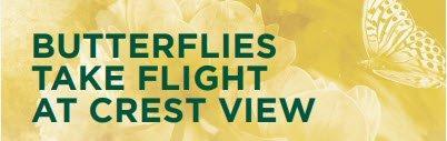 Butterflies take flight at crest view senior communities